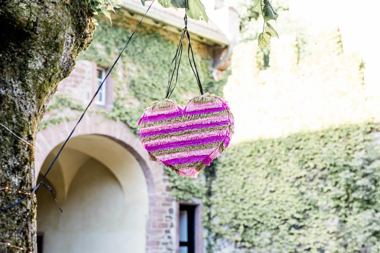 Pinata, DIY, Hochzeitsspiel, Hochzeit, Überraschung, Standesamt