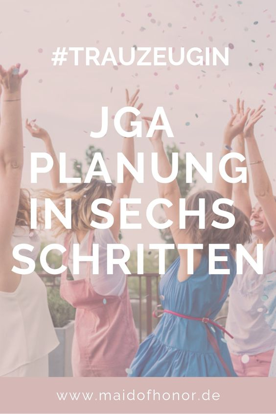 Junggesellenabschied planen: in 6 Schritten zum perfekten JGA
