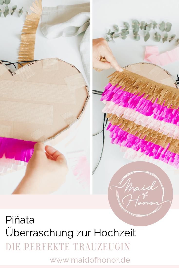 Piñata zur Hochzeit