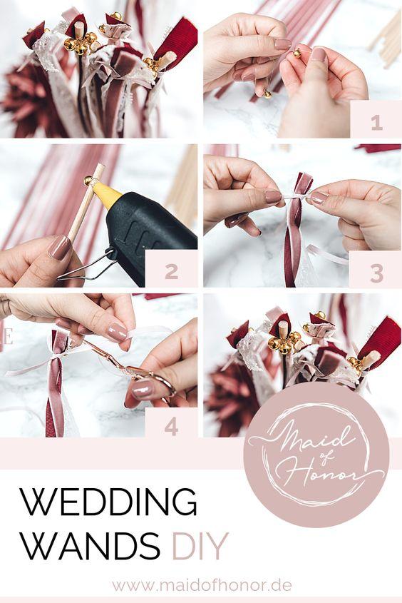Wedding Wands - ein schnelles DIY mit großer Wirkung