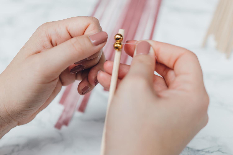 Wedding Wands, DIY, Hochzeit, Maid of Honor, Trauzeugin