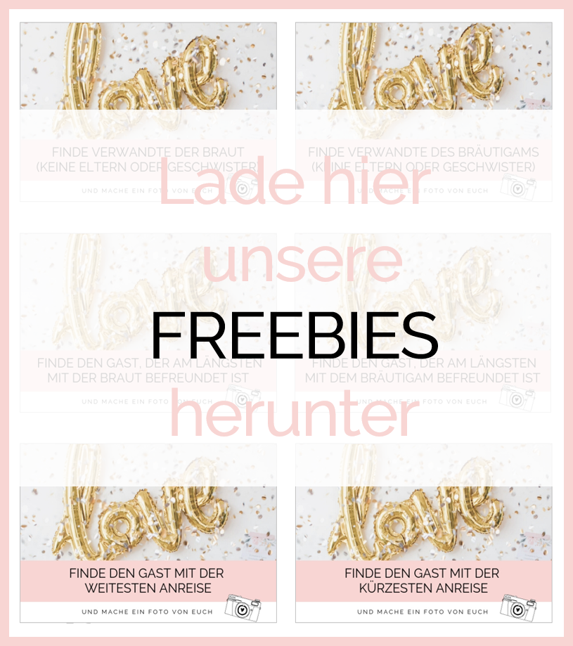 Maid of Honor, maidofhonor.de, Trauzeugin, Hochzeit, Spiel, Kennenlernspiel, Gäste, Freebie, Download