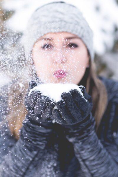 Junggesellinnenabschied im Winter
