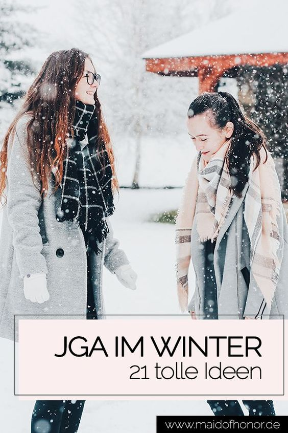 JGA im Winter: 21 geniale Ideen