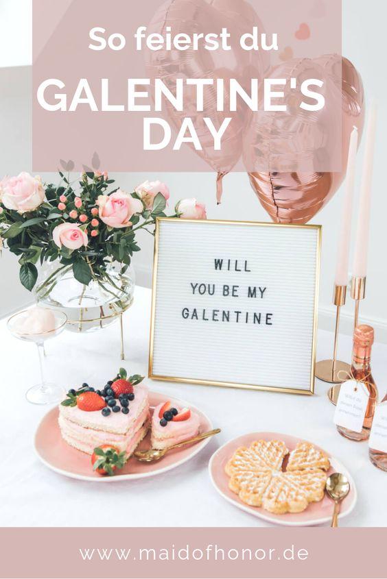 Galentine's Day und Ideen für die Brautparty
