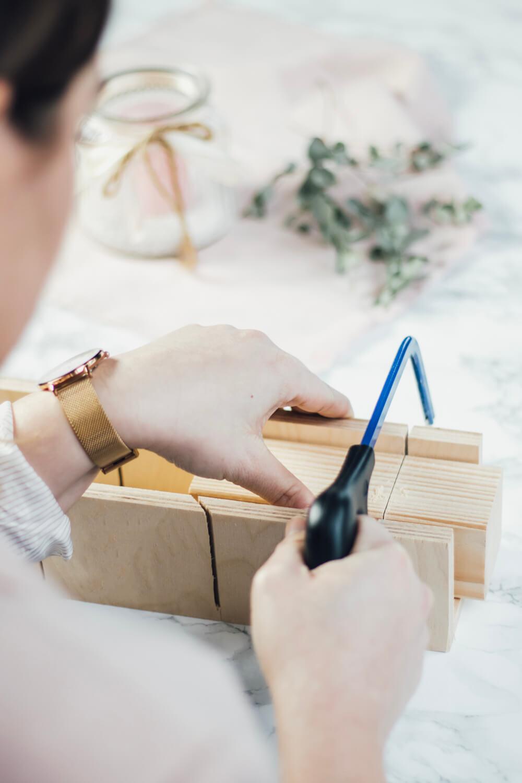 Hochzeitscountdown, Countdown, Trauzeugin, Geschenk, DIY