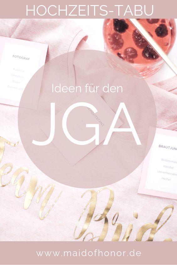JGA Ideen - Hochzeits-Tabu