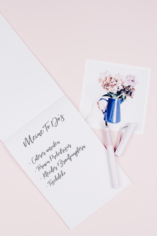 To Do Liste Hochzeit
