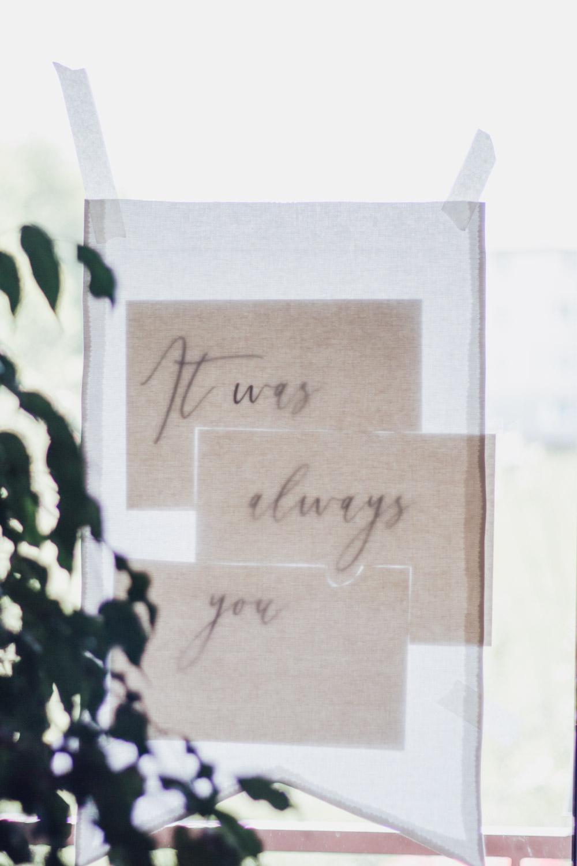 Überraschung zur Hochzeit