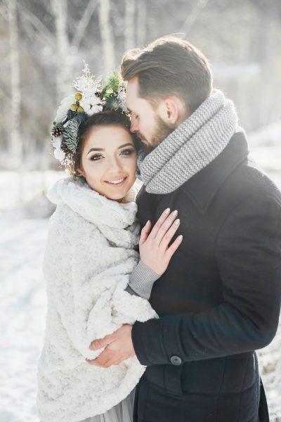 Überraschung zur Winterhochzeit